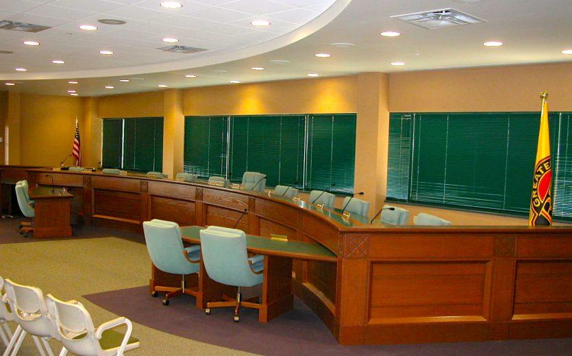 Board Room Custom Desk
